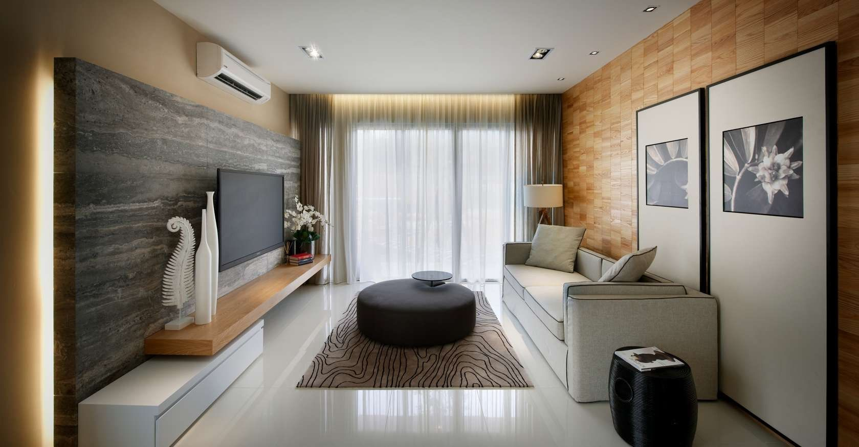 Kuala lumpur apartment project vale from blu water studio contemporary interiors infused with a colorful zest