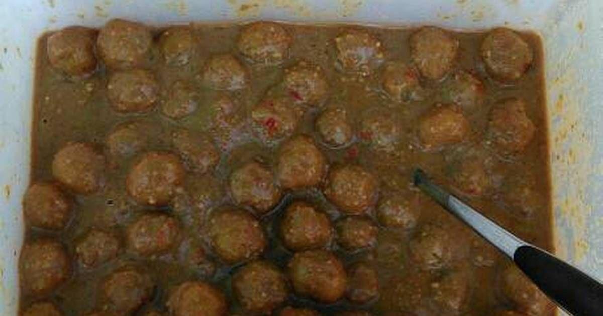 Cilok Bumbu Kacang Pedas