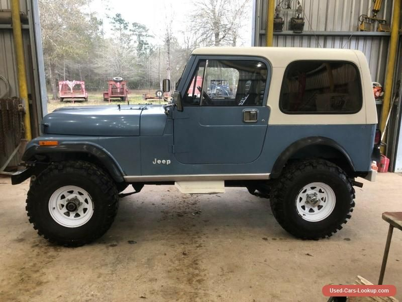 Car For Sale 1985 Jeep Cj