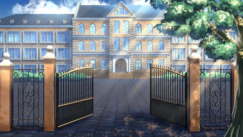 School Days by Badriel Cenário anime, Cenários digitais