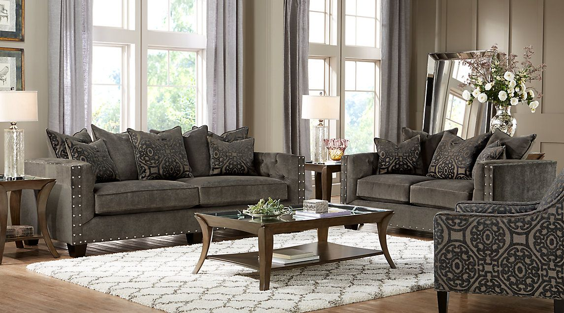 Affordable Fabric Living Room Sets Rooms To Go Furniture