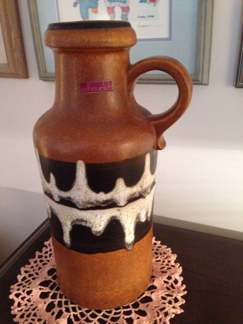 Scheurich 407 35 fabulous west german pottery floor vase a fabulous west german pottery floor vase reviewsmspy