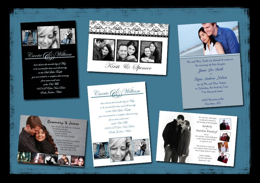 Free wedding invite templates and an instructional video on how to - Photo Album Templates Free