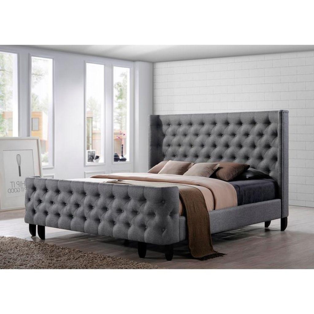 King Size Bett Rahmen Mit Kopfteil Und Fußteil King-size-Bett-Rahmen ...