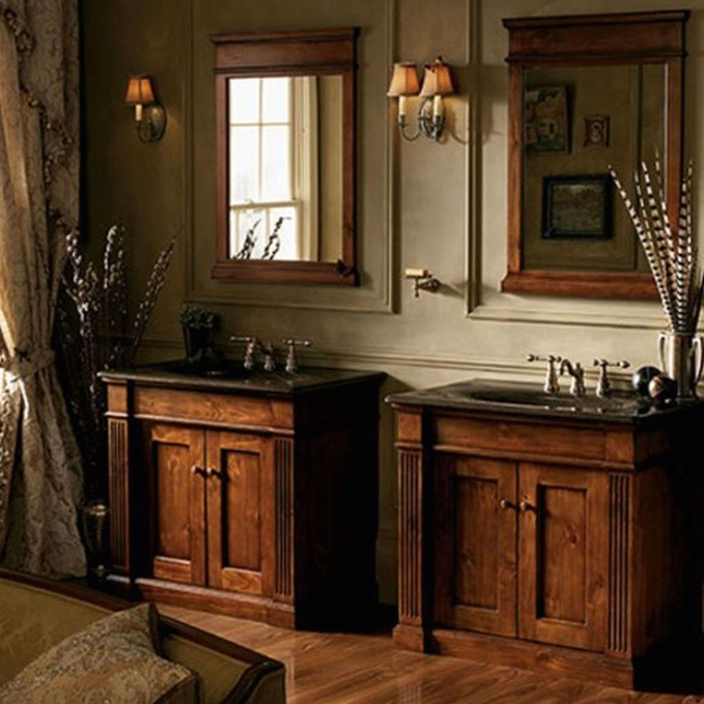 13 Genius Tricks Of How To Improve Rustic Country Bathroom