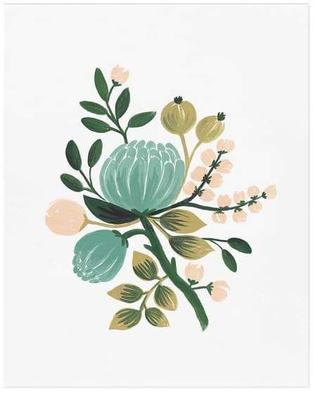 Blue Botanical by Rifle Paper Co.