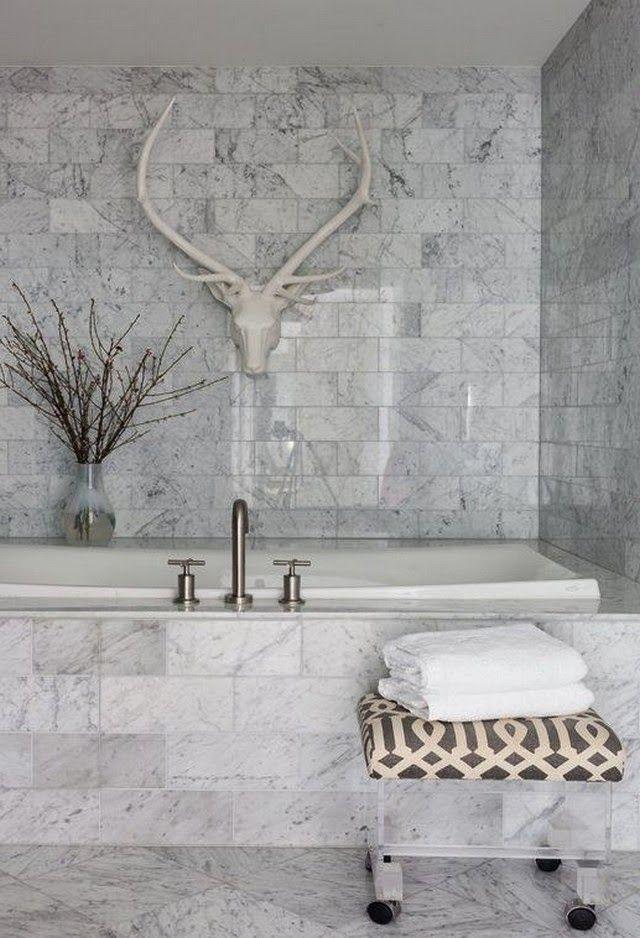48 Marble Bathroom Design Ideas To Inspire You Marble Tile Simple Carrara Marble Bathroom Designs