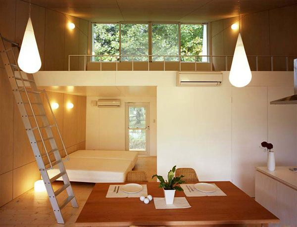 Small Home Design Ideas Metal Clad House With Wood Interior