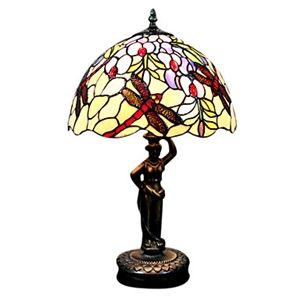 dragonfly pattern stained glass table lamp stained glass pattern. Black Bedroom Furniture Sets. Home Design Ideas