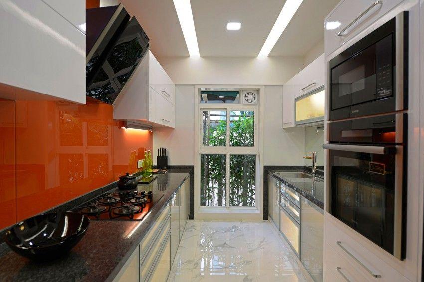 Magnífico Cocina Moderna Diseño De Las Habitaciones Cresta - Ideas ...