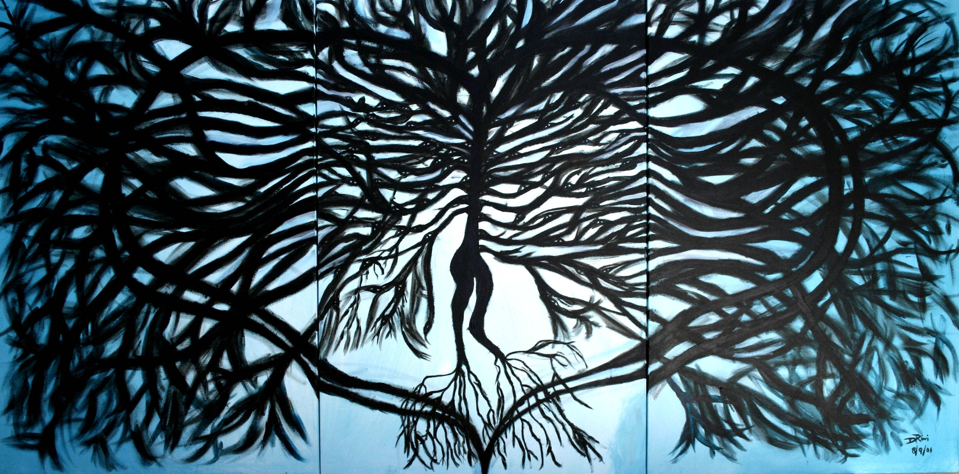 """The Tree of Life"" Acrylics on canvas"