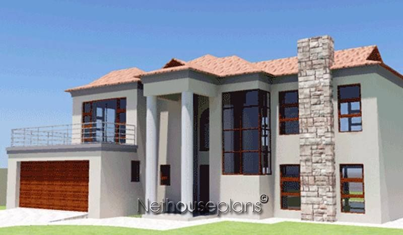A 3 Bedroom Modern Bali House Plan House Houseplans Desing Customhouse Designerhouse House Plans South Africa African House Beautiful House Plans