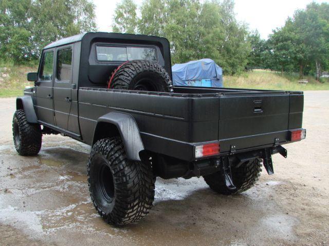 Mercedes G Wagon Pick Up Conversion | Terrain | Mercedes
