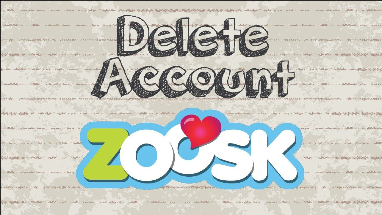How to delete Zoosk account video youtube social
