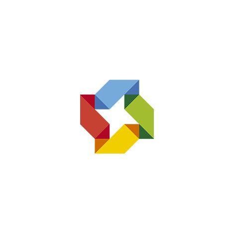 Squeezed Abstract Logo – Logo Cosmos