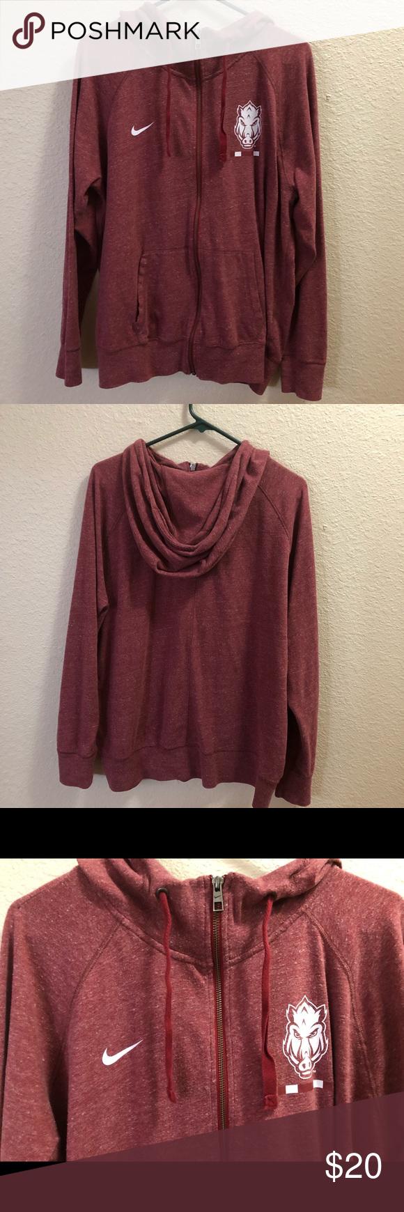 Arkansas Razorback Hoodie Hoodies Sweatshirts Hoodie Sweatshirt Tops [ 1740 x 580 Pixel ]