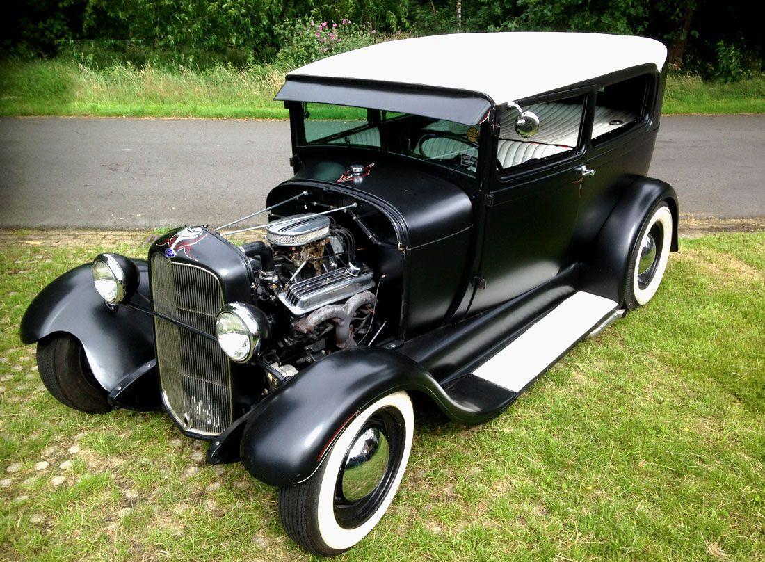 Rodcitygarage 1929 ford model a tudor sedan hotrod