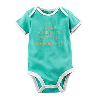 Carter's® Baby Girls' Daddy's Little Sunshine Bodysuit
