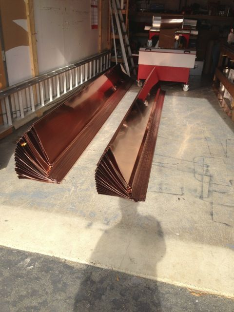 Best Traditional Standing Seam Copper Roofing Lyons 640 x 480