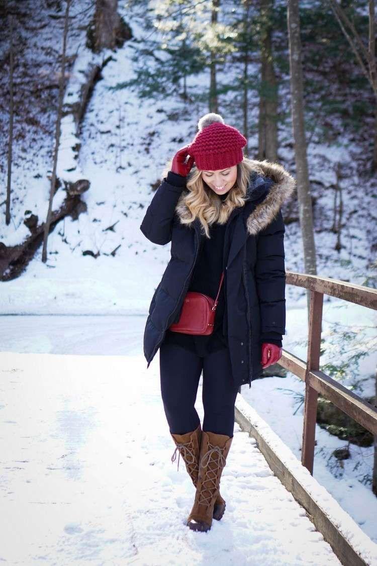 99fa783b1b220e Comment porter les bottes d hiver femme   Idées tendance en images ...