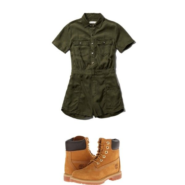 Military by faitherica-1 on Polyvore featuring polyvore, fashion, style, Abercrombie & Fitch and Timberland