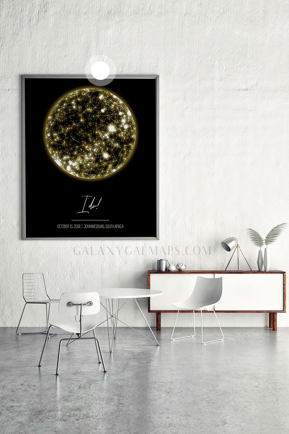 Unique Night Sky Map World Map Star Chart By Date Gift For Traveller Quote For Student Gift For Step Mom With Images Apartment Gift Godmother Gifts Wedding Frames