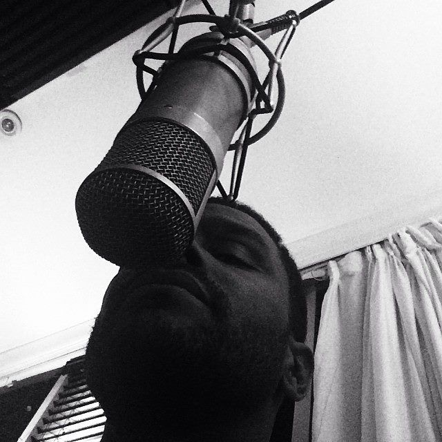 Maxwell...on the mic