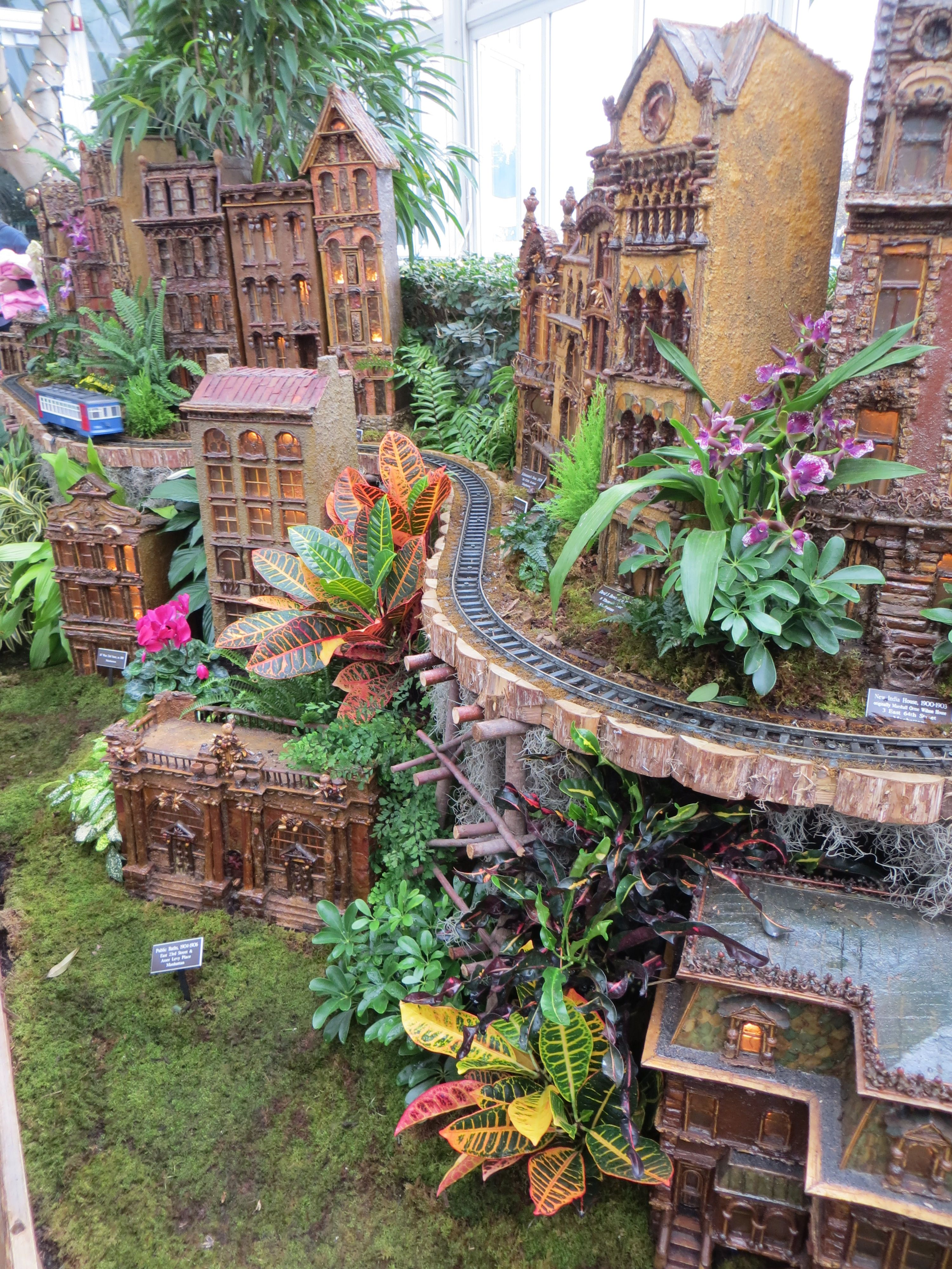 Holiday Train Show At Bronx Botanical Gardens