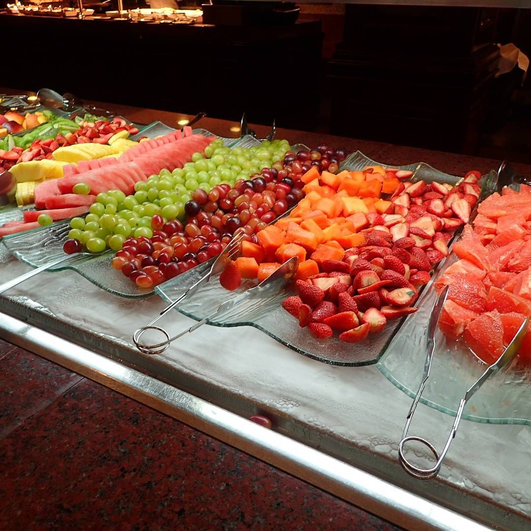 Fruit buffet at Riu Palace Riviera Maya - All Inclusive - Breakfast Buffet