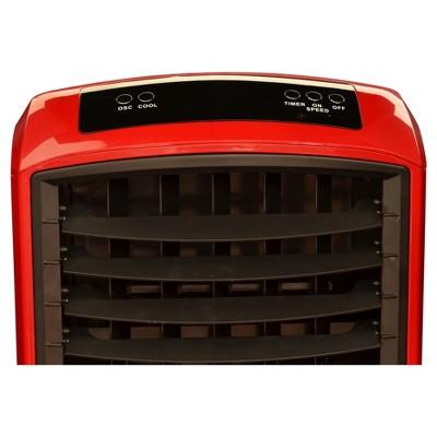NewAir - Indoor/Outdoor Portable Evaporative Cooler - Red ...