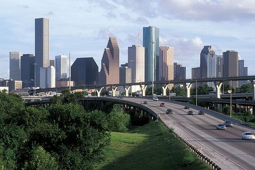 Houston Tx Population 4 750 000 Iconic Building Bank Of