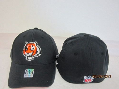 8be7e5be066bae CINCINNATI BENGALS REEBOK ONE SIZE FITS ALL EMBROIDERED CAP HAT FREE  SHIPPING #Reebok #CincinnatiBengals