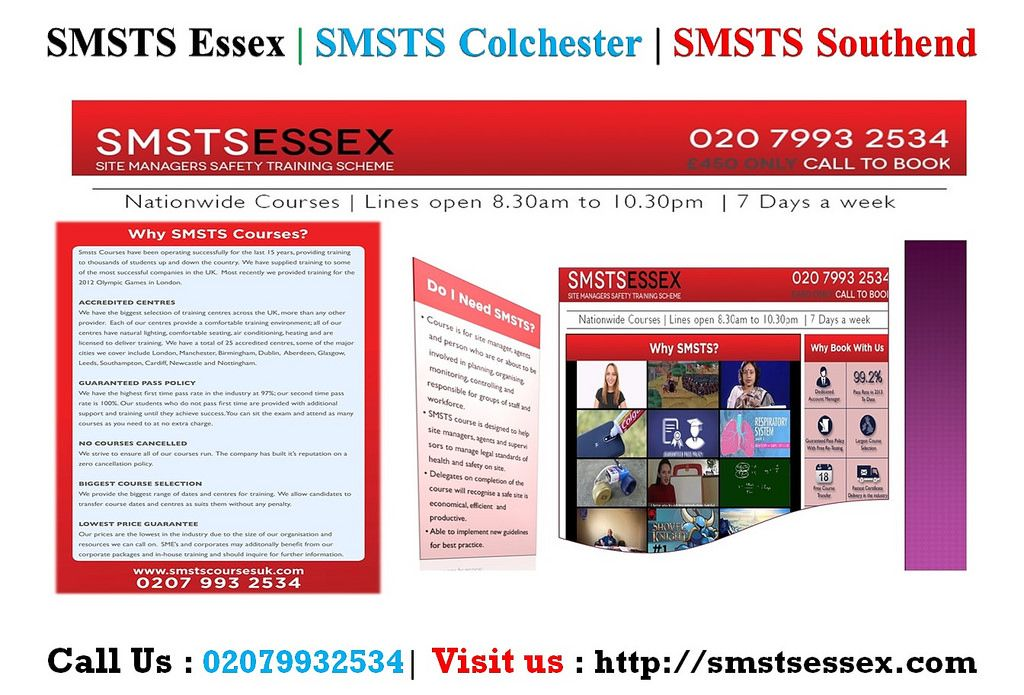 BEST SMSTS Colchester, SMSTS Centres, UK Safety training