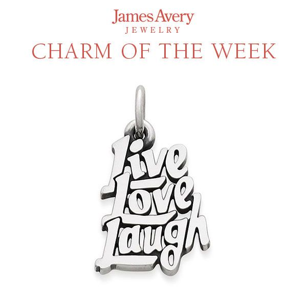 Charmed Craft Live Love Laugh Charm Beads for Charm Bracelets