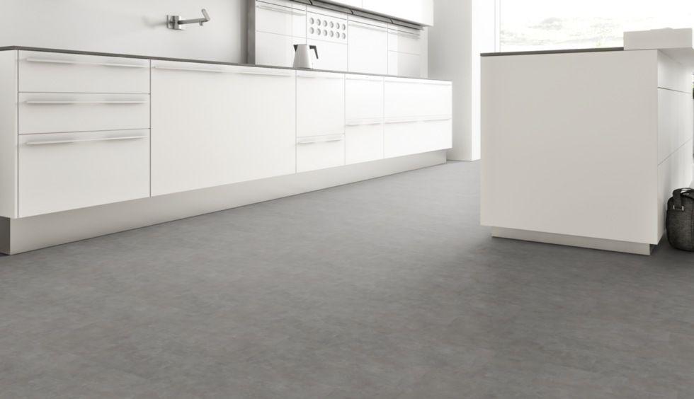 Klick Vinyl ist der ideale Bodenbelag für moderne Küchen - einfach - laminat in küche verlegen