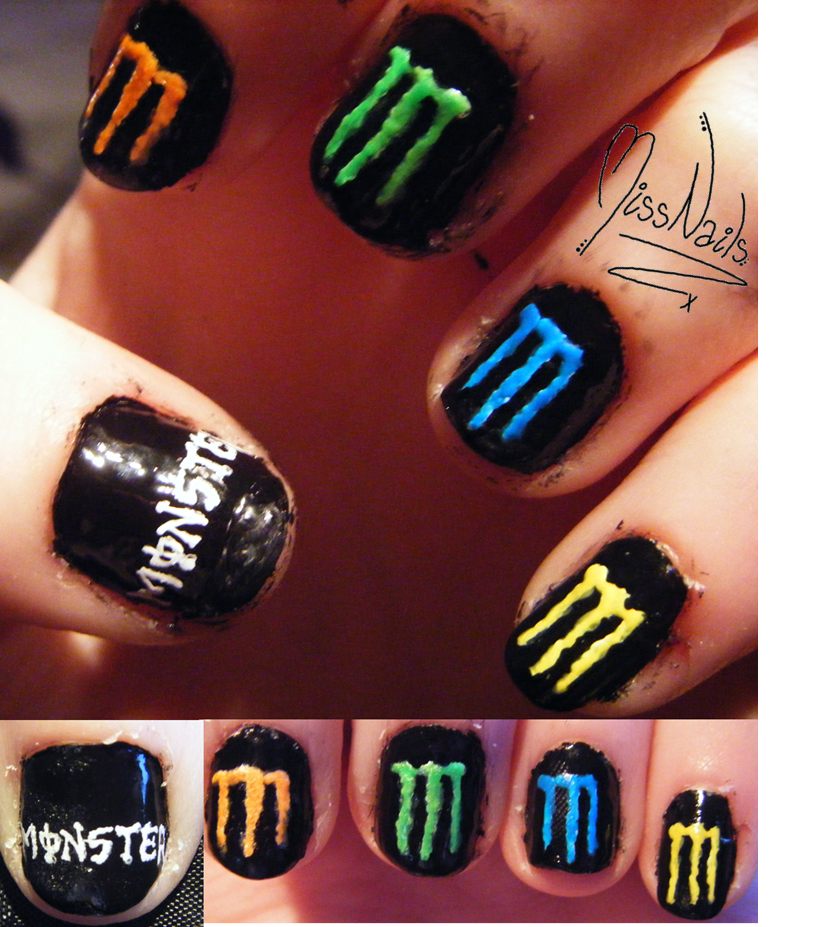 Monster Energy by MissNails.deviantart.com | Monster energy stuff ...