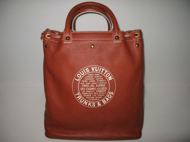 f6d39b341684 Authentic Louis Vuitton Trunks   Bags Runway Tobago Shoe Tote Bag ...