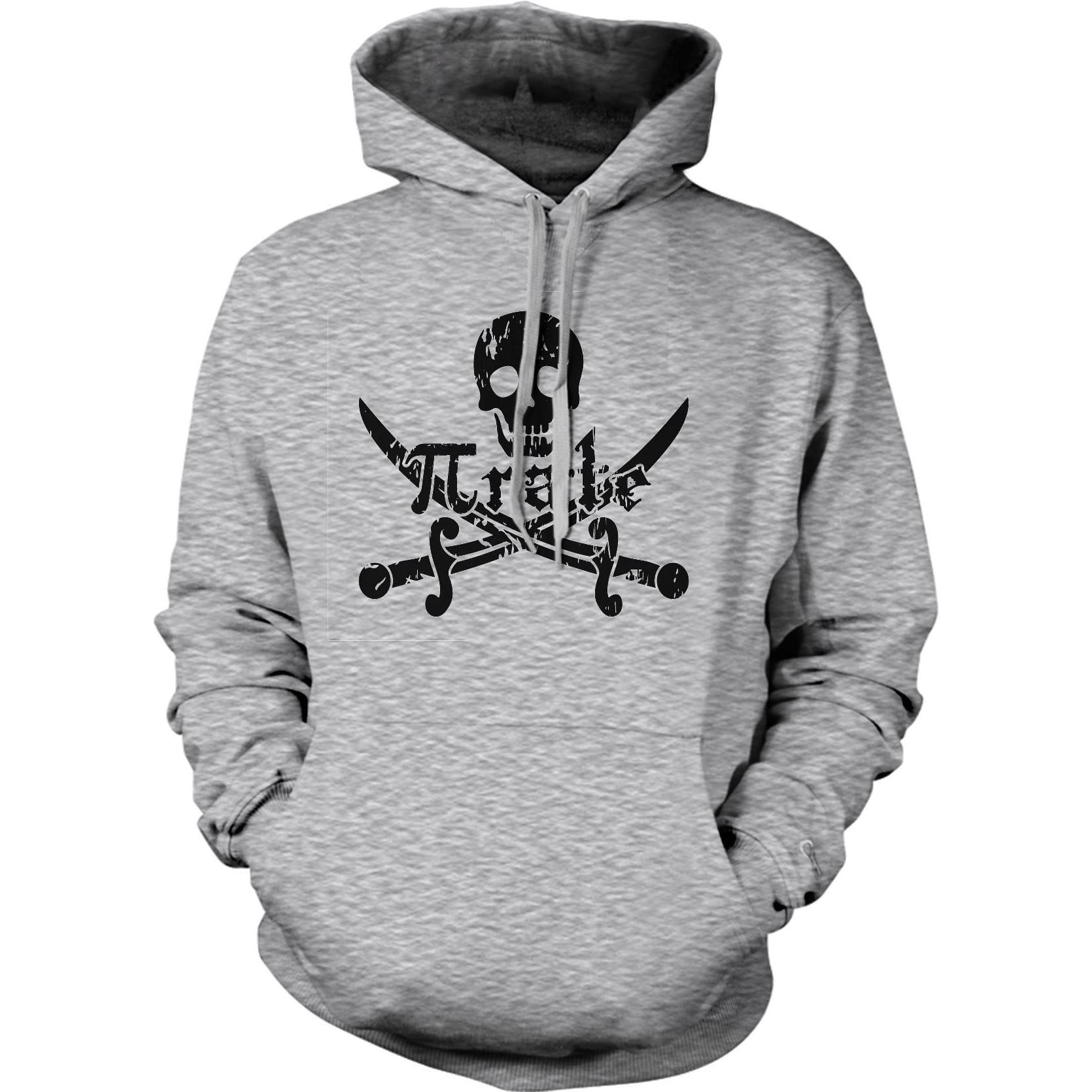 Crazy Dog T-shirts Pirate Skull and Crossbones Hoodie Math Pi-Rate Funny  Hooded 51b6f75a8