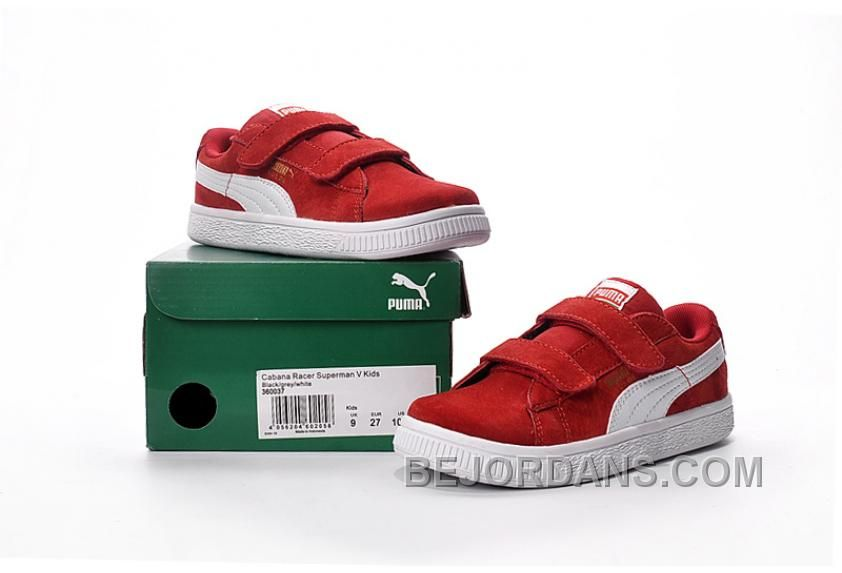Online Shoes White 2016 Puma Kids Red T1Jcl3FK