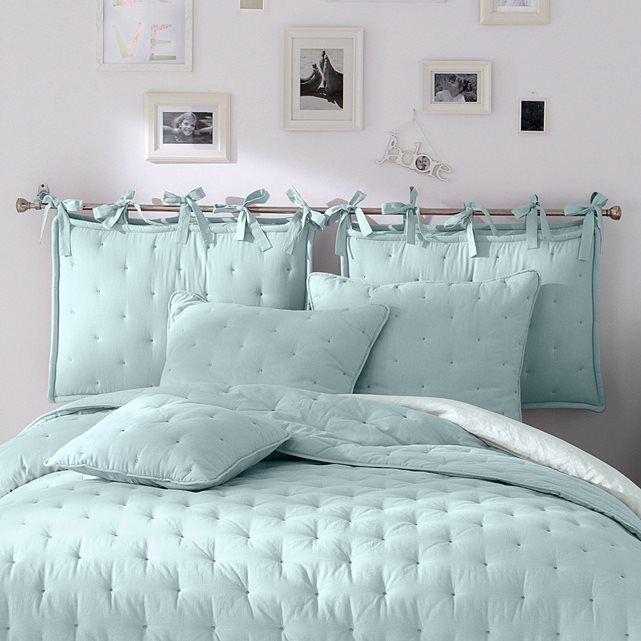 Coj n de cabecero acolchado aeri ideas para habitacion - Cabeceros acolchados cama ...