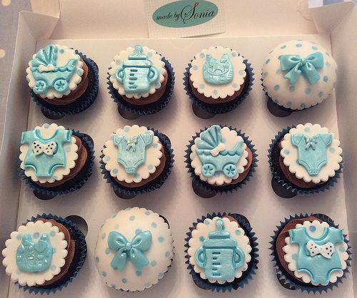 Pin On Baby Shower Cupcakes