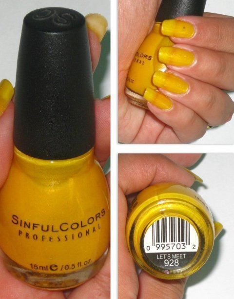 sinful colors, lets meet, nail polish, review on the blog