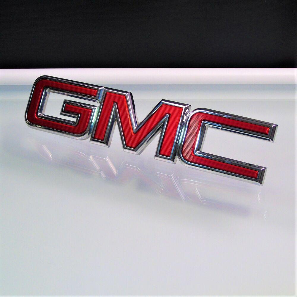 Gm Front Grille Emblem 84125850 2015 2018 Gmc Canyon Yukon Gm Gmc Canyon Gmc