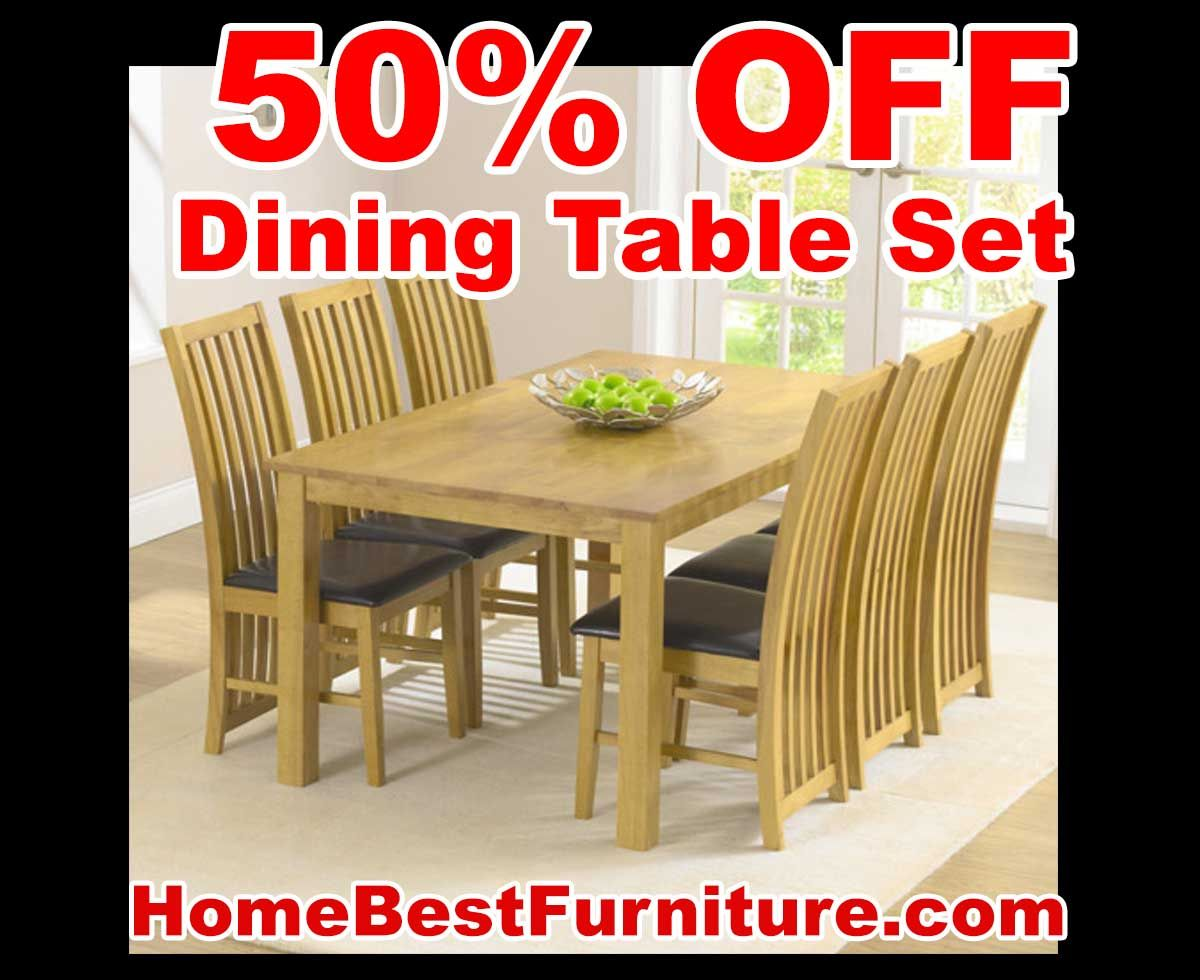 Sale discount lampedusa dining table set with chairs home decor
