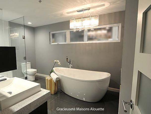 W3713 - Modèle de maison contemporain attrayant, 3 chambres, grand ...