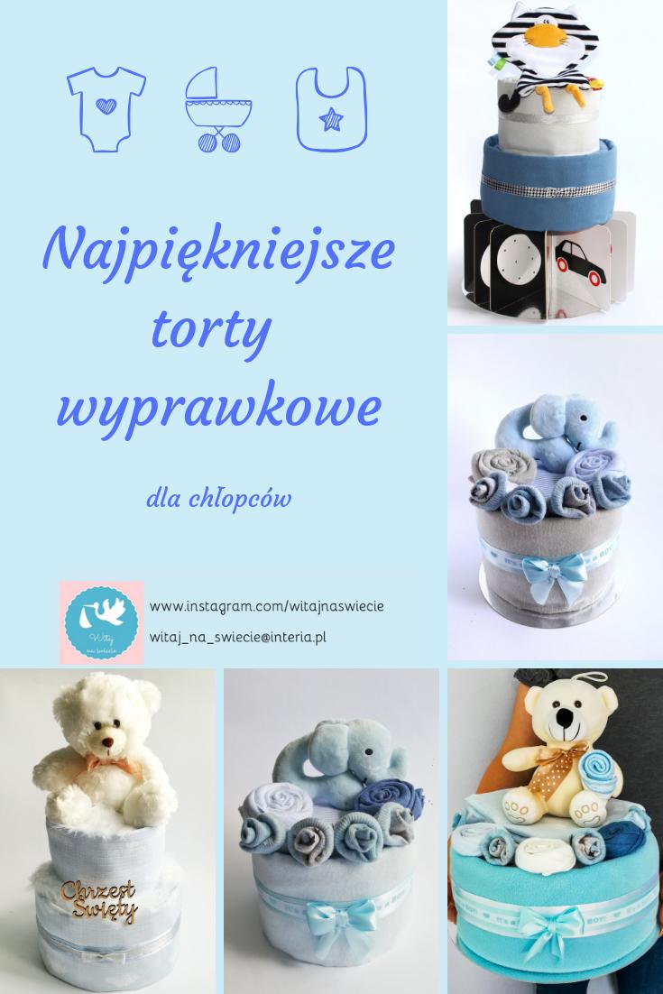 Prezent Dla Chlopca Prezent Dla Noworodka Baby Shower Bociankowe Prezent Na Chrzciny Diaper Cake Boy Unique Diaper Cakes Nappy Cake