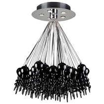 This PLC Lighting chandelier includes free shipping!