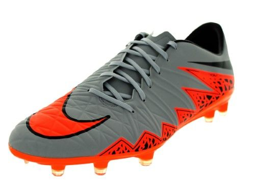 Nike Men's Hypervenom Phatal II Fg Wolf Grey/Total Orange/Blk/Blk Soccer  Cleat 8 Men US | Jet.com
