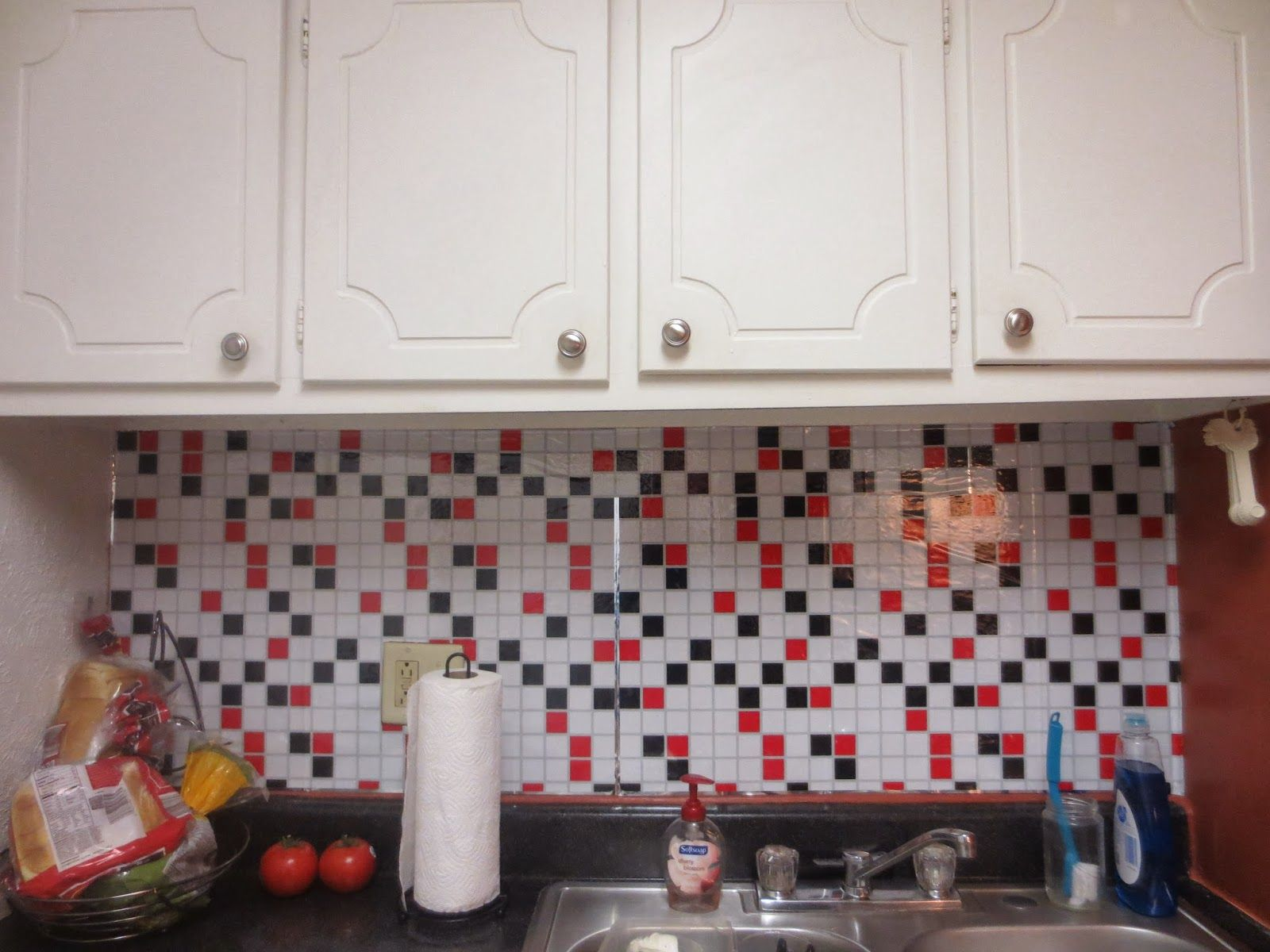 Best Kitchen Gallery: Dollar Tree Backsplash Room Decorating Ideas Pinterest Room of Foil Kitchen Tile on rachelxblog.com