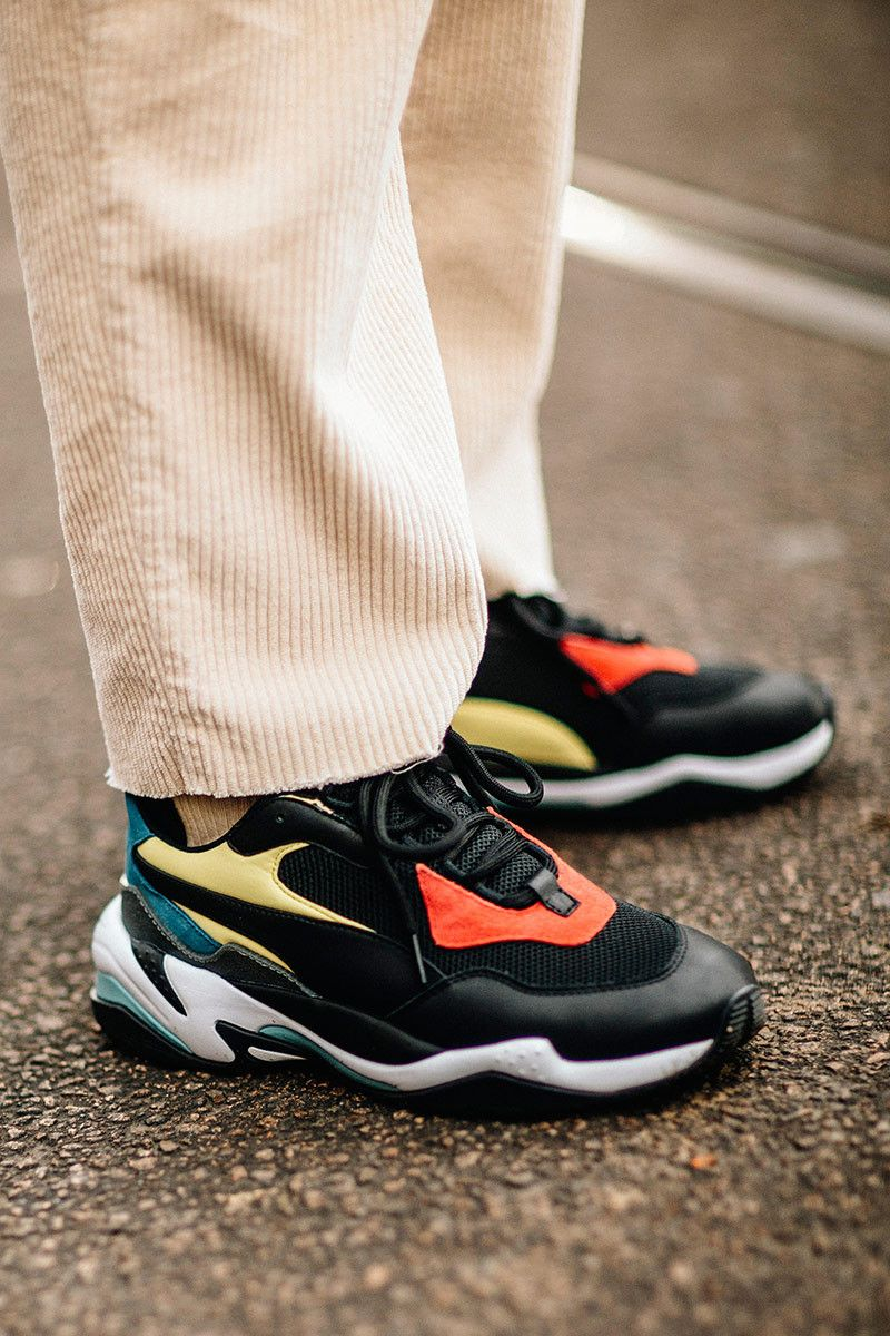 1071bb0a8307 High-End Sneakers Were Everywhere At Milan Fashion Week FW18 ...